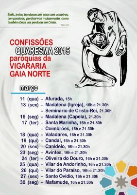 Confissões - Vigararia Gaia Norte
